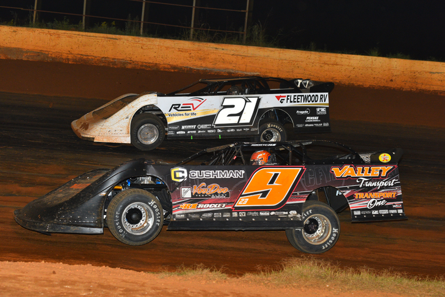 Robby Moses During The King Of Mountain Fall Clic At Smoky Tn Sdway In October 2018 Mrm Racing Photos